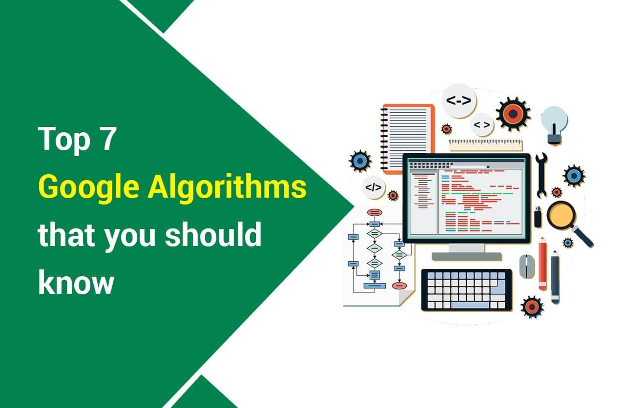 Top 7 Google Algorithms That You Should Know About