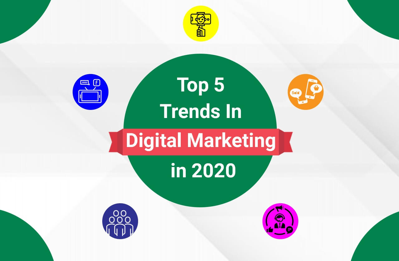 Top 5 Digital Marketing Trends To Watch Out For In 2020