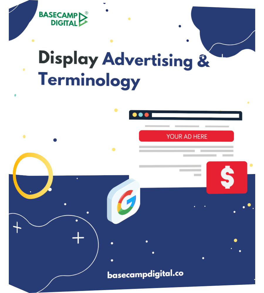 display ads and terminology