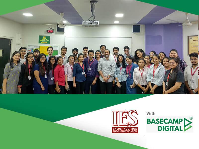 Digital Marketing Training session at IES PGDM