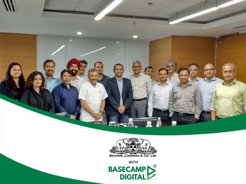 Digital Marketing Training session at BCCL