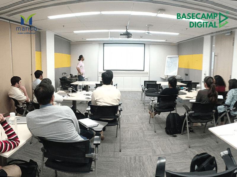 Digital Marketing Training session at Marico