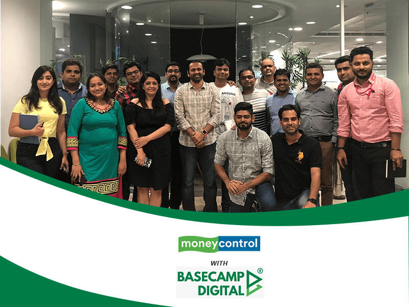 Digital Marketing Training session at Money Control