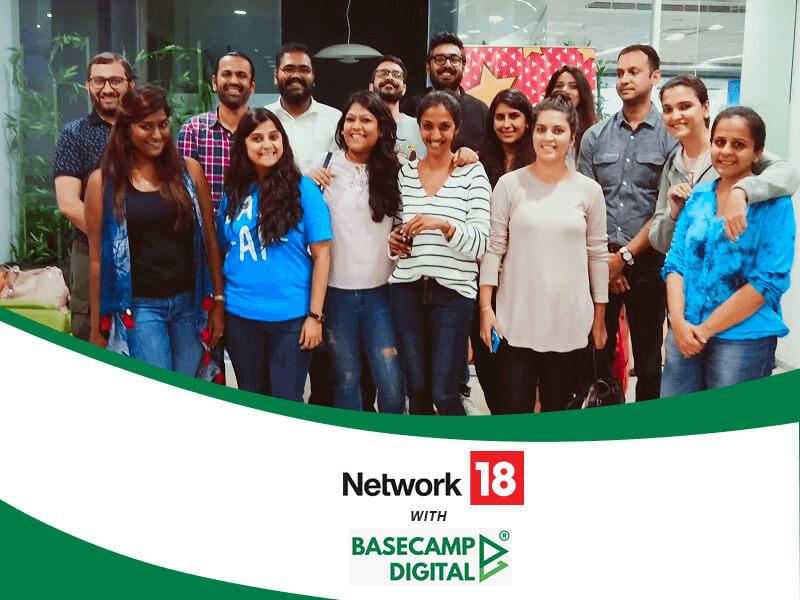 Digital Marketing Training session at Network18