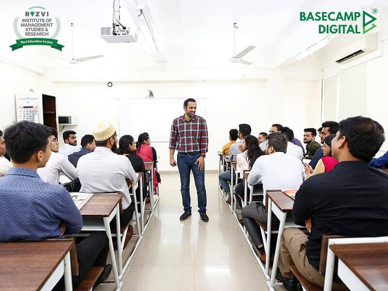 Digital Marketing Training session at RISMR