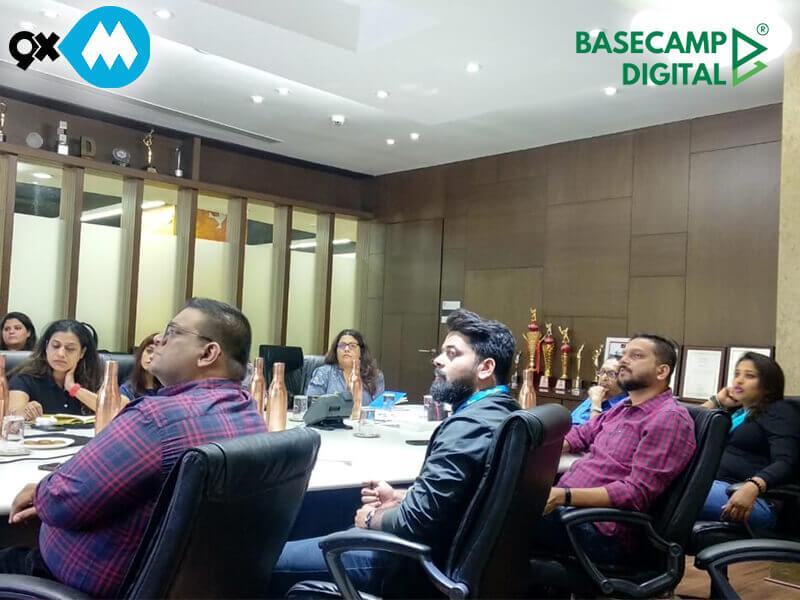 Digital Marketing Training session at 9xm