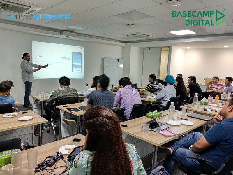 Digital Marketing Training session at Times Internet