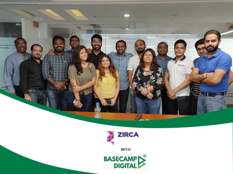 Digital Marketing Training session at Zirca